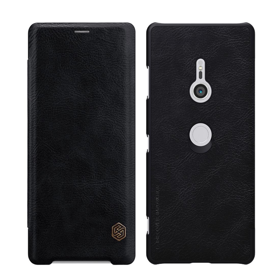 NILLKIN QIN flipový kryt Sony Xperia XZ3 černý