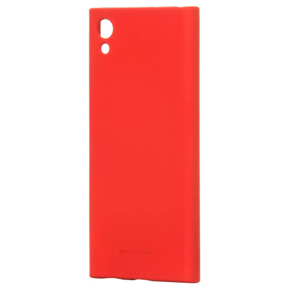 MERCURY SOFT FEELING kryt Sony Xperia XA1 červený