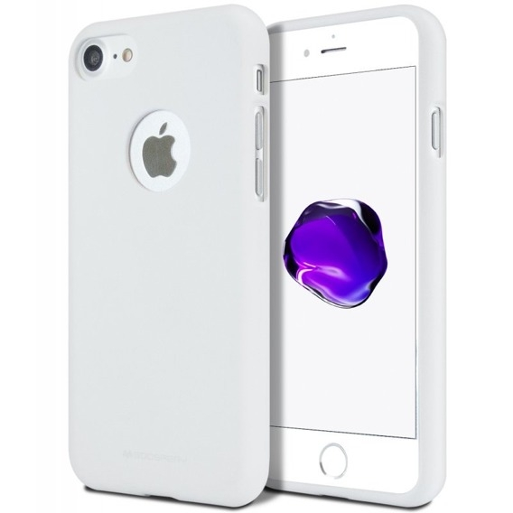 MERCURY SOFT FEELING obal Apple iPhone 5 / 5S / SE biely