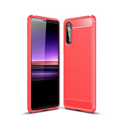 FORCELL FLEXI TPU Ochranný kryt Sony Xperia 10 II červený