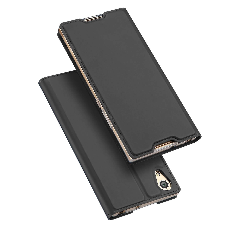 DUX Knížkové pouzdro Sony Xperia L1 šedé