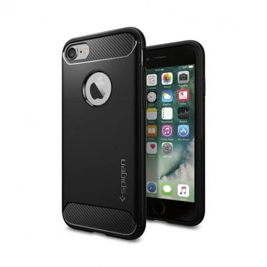 SPIGEN RUGGED ARMOR obal Apple iPhone 7 / iPhone 8 čierny