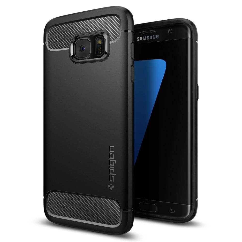 SPIGEN RUGGED ARMOR Samsung Galaxy S7 Edge čierny