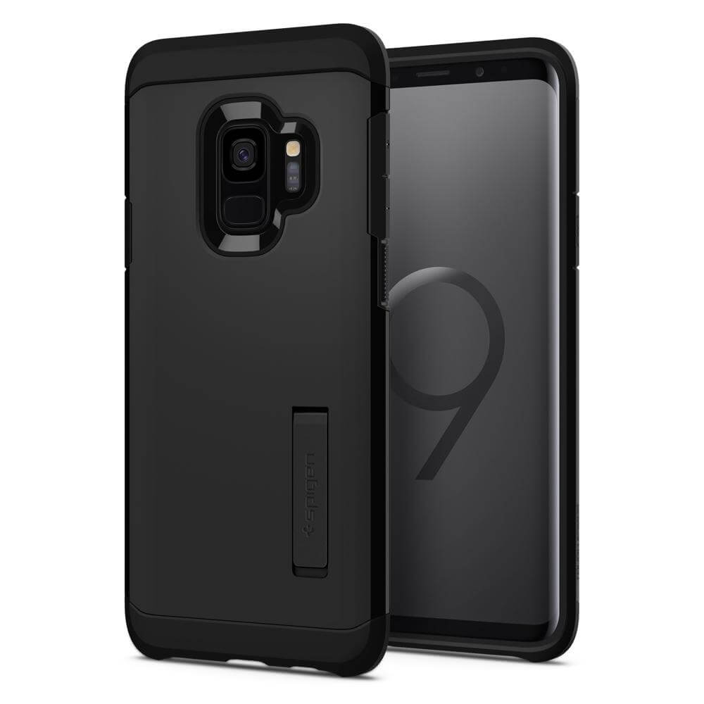 SPIGEN TOUGH ARMOR Samsung Galaxy S9 čierny (Black)