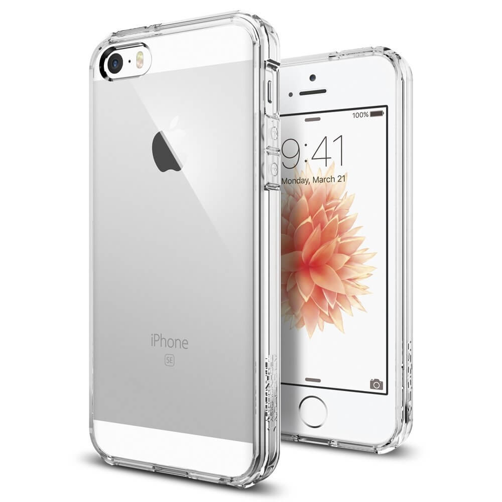 SPIGEN ULTRA HYBRID Apple iPhone 5/5S/SE Crystal Clear