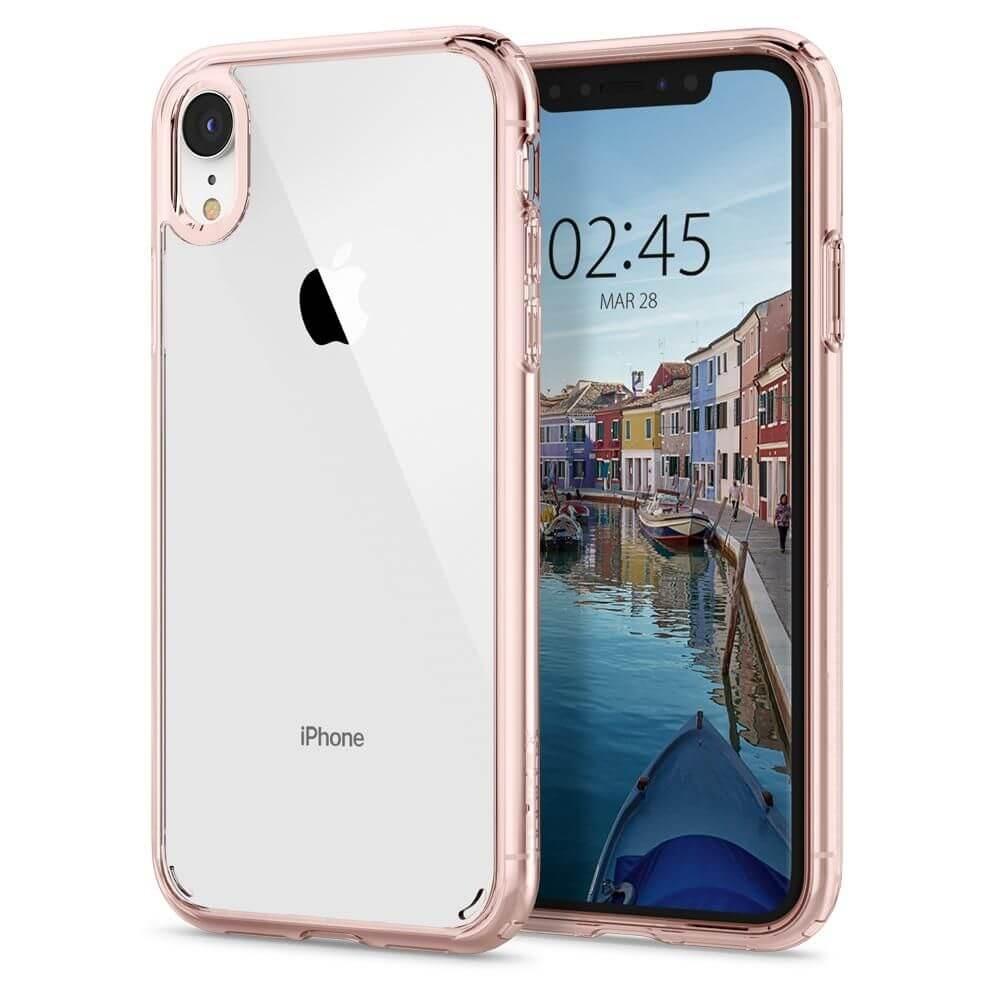 SPIGEN ULTRA HYBRID Apple iPhone XR růžový