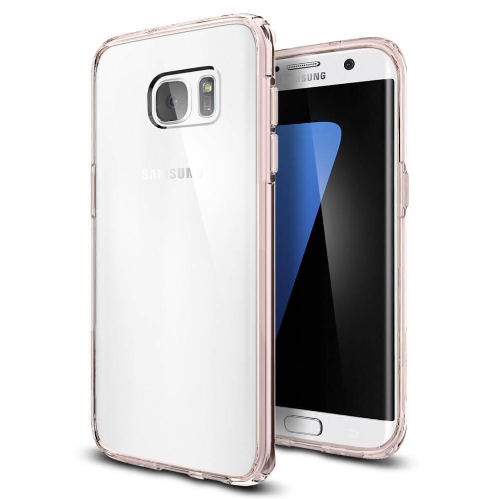SPIGEN ULTRA HYBRID Samsung Galaxy S7 Edge Rose Crystal
