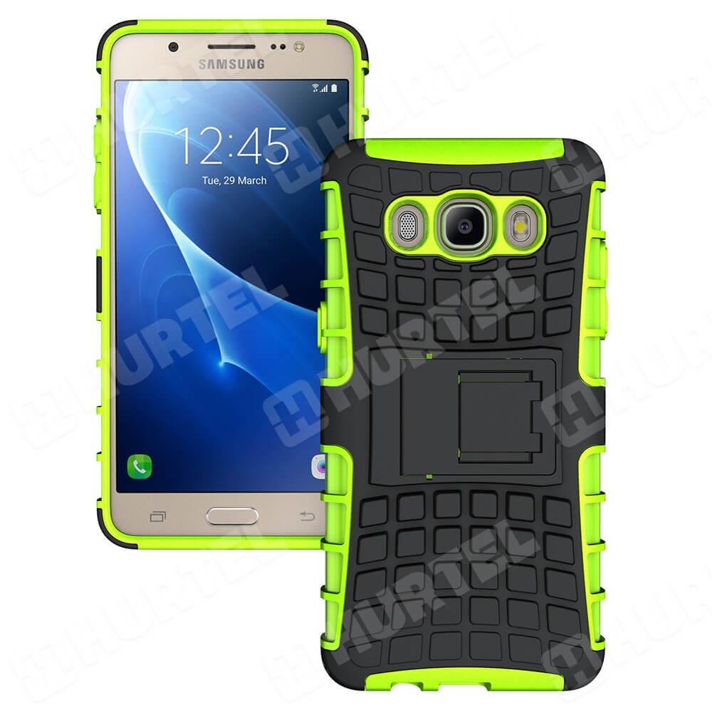 FORCELL STAND Extra odolný obal Samsung Galaxy J5 2016 (J510) zelený 341cae0fa42