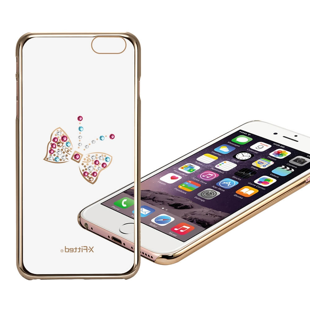 X-FITTED SWAROVSKI obal Apple iPhone 6 Plus / 6S Plus zlatý (0103)