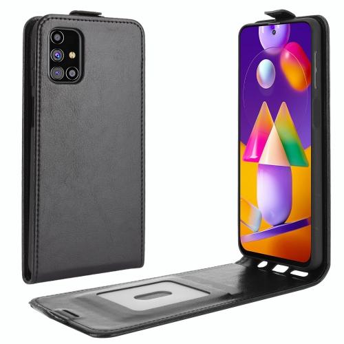FORCELL Vyklápacie púzdro Samsung Galaxy M31s čierne