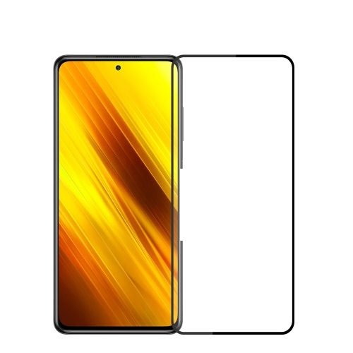 FORCELL 3D Tvrzené sklo Xiaomi Poco X3 NFC černé