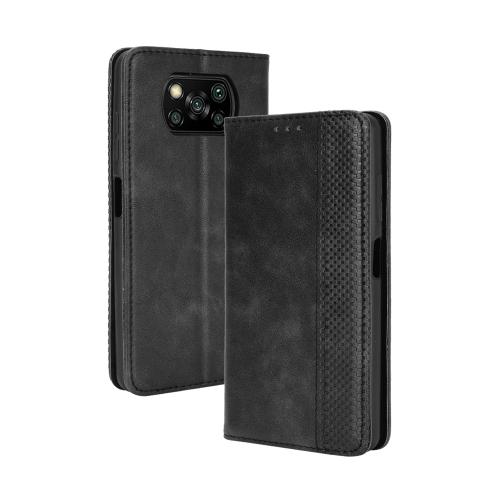 FORCELL BUSINESS Peňaženkový kryt Xiaomi Poco X3 NFC černý