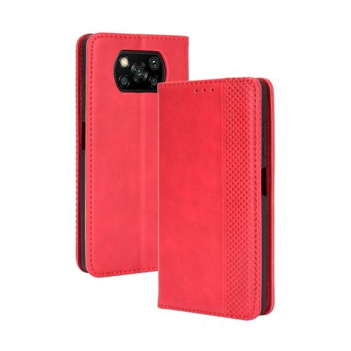 FORCELL BUSINESS Peňaženkový kryt Xiaomi Poco X3 NFC červený
