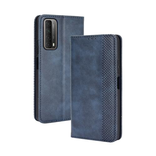 FORCELL BUSINESS Peňaženkový kryt Huawei P Smart 2021 modrý