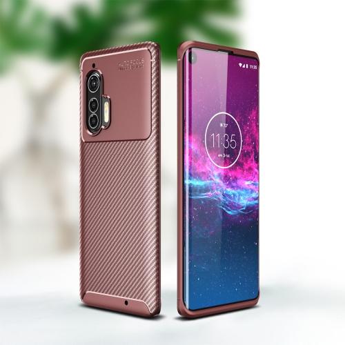 FORCELL BEETLE TPU obal Motorola Edge Plus hnědý