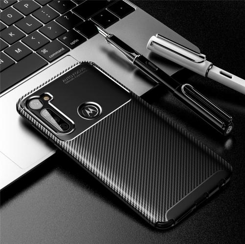 FORCELL BEETLE TPU obal Motorola One Fusion + černý