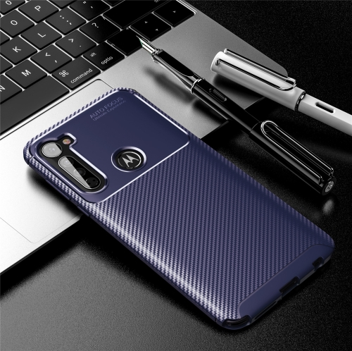 FORCELL BEETLE TPU obal Motorola One Fusion + modrý
