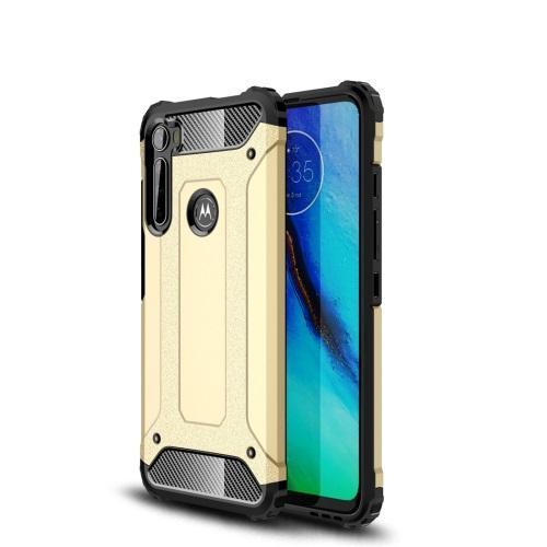 FORCELL TOUGH Ochranný kryt Motorola One Fusion+ zlatý