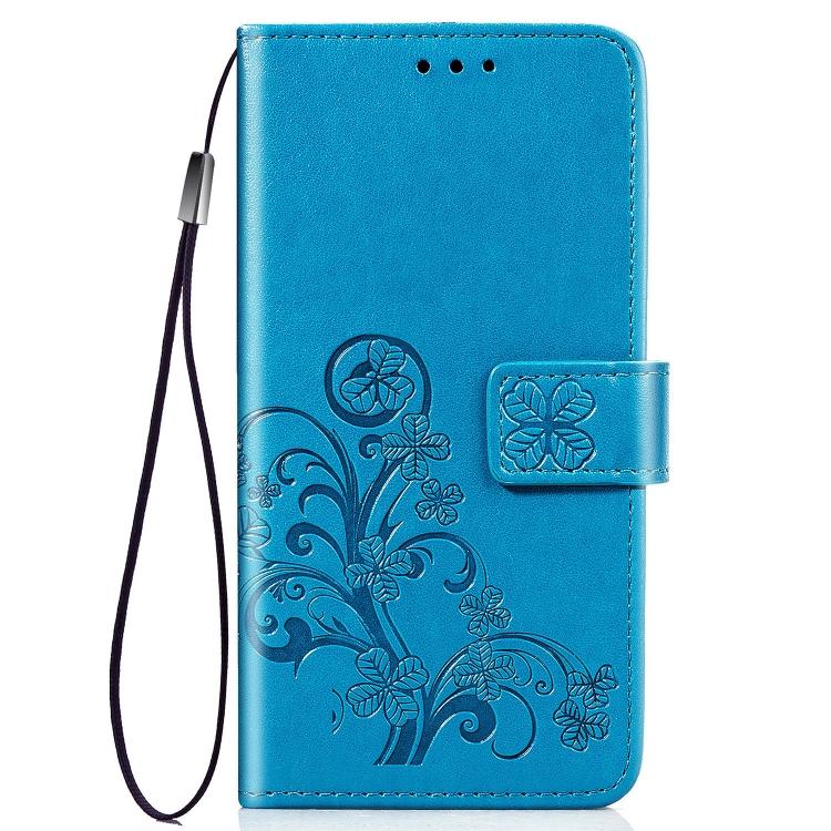 FORCELL ART Peňaženkový kryt Sony Xperia L4 FLOWERS modrý