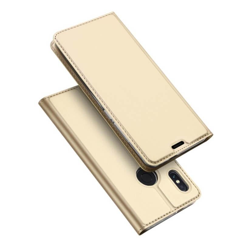 DUX flipové pouzdro Xiaomi Redmi Note 5 zlaté