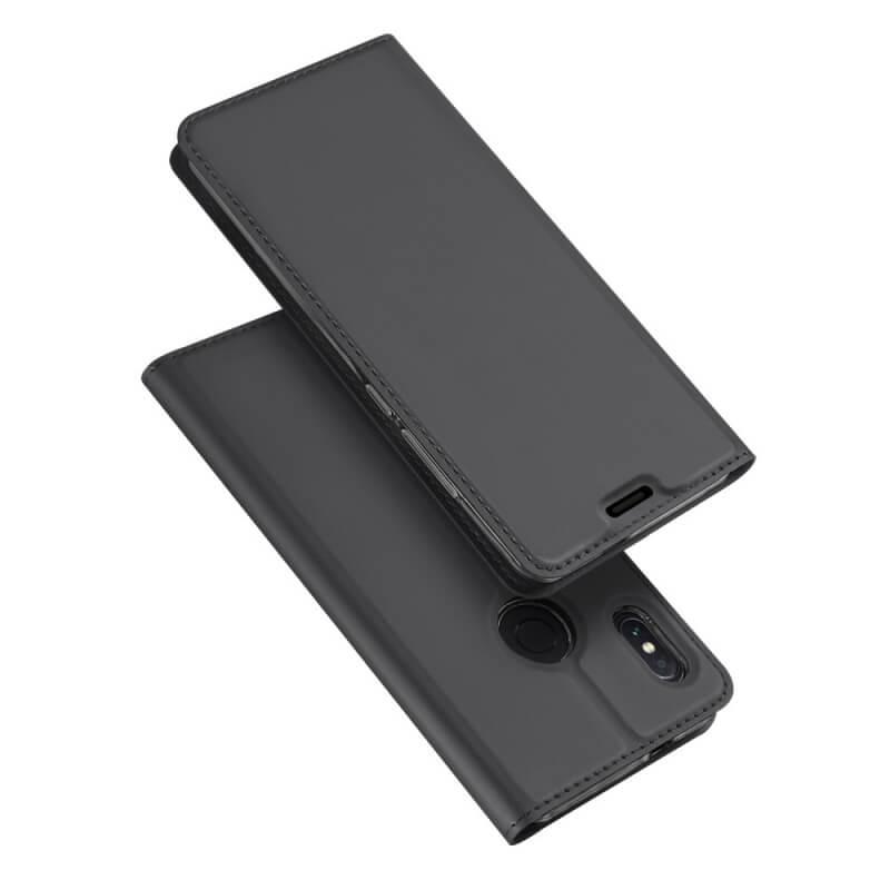 DUX flipové pouzdro Xiaomi Redmi Note 5 šedé