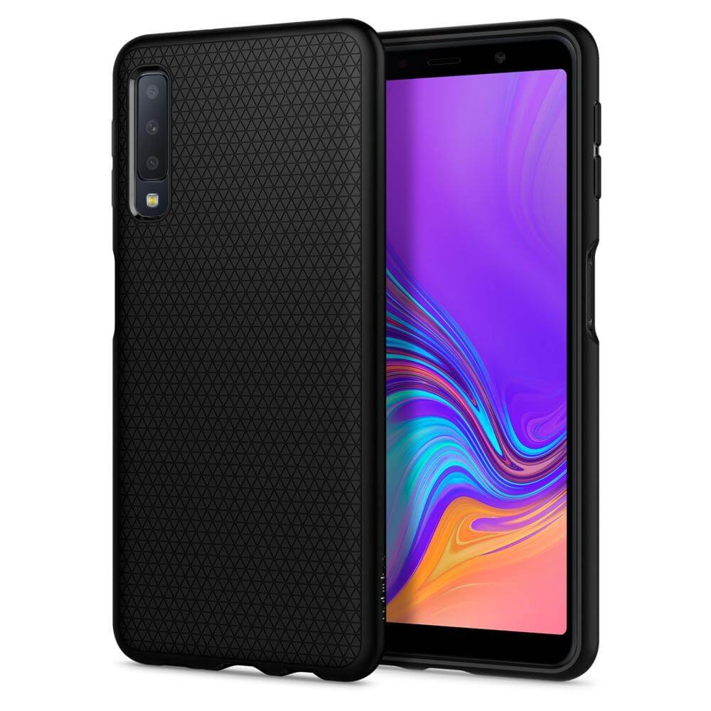 SPIGEN LIQUID AIR Samsung Galaxy A7 2018 (A750) černý