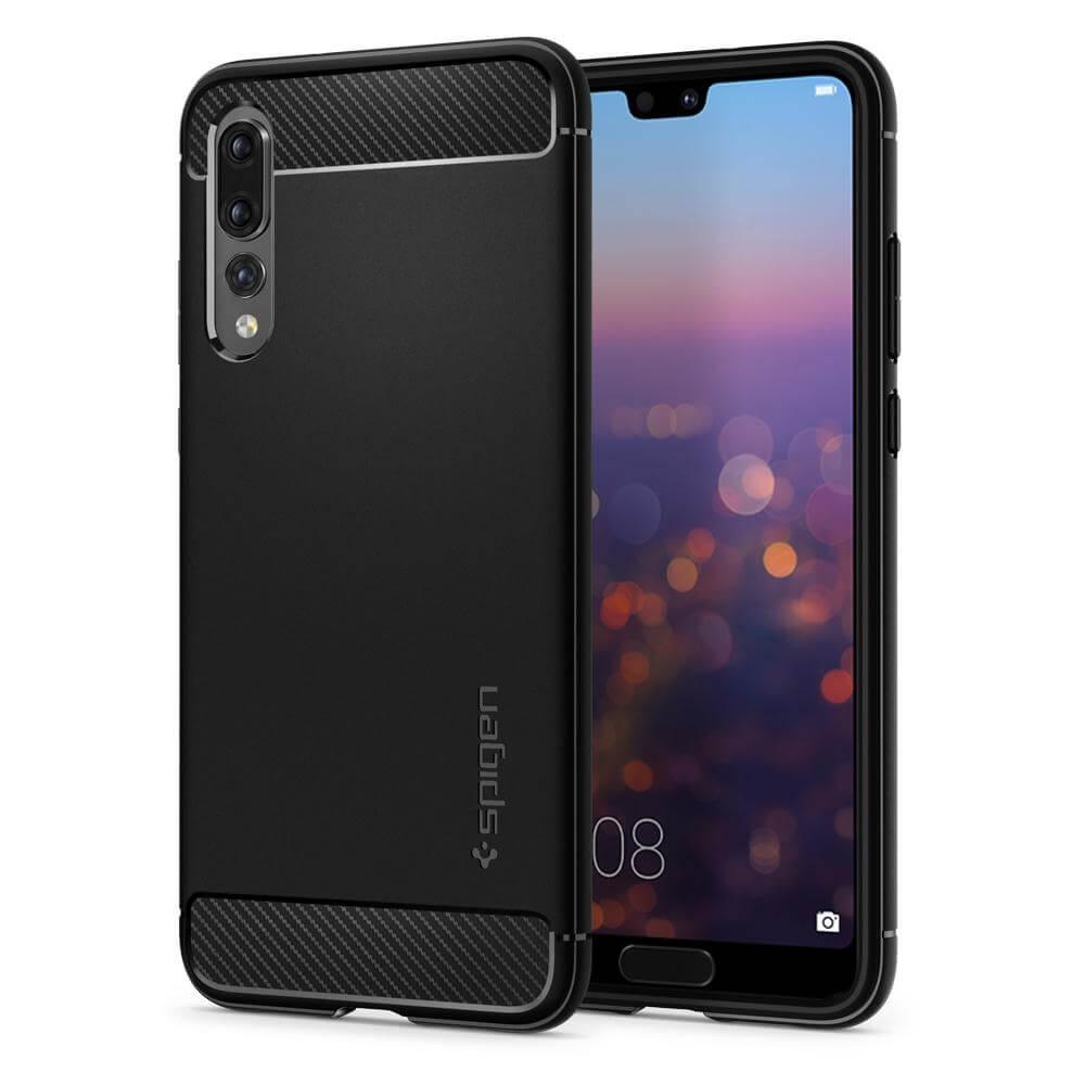 SPIGEN Rugged ARMOR Huawei P20 Pro černý