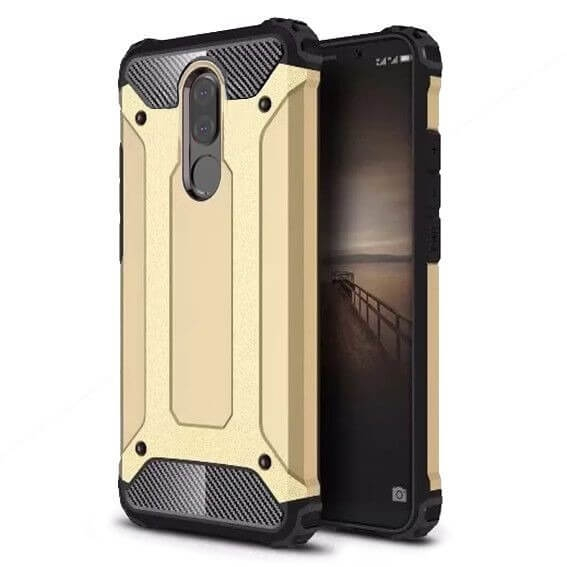 FORCELL TOUGH Ochranný obal Huawei Mate 10 Lite zlatý