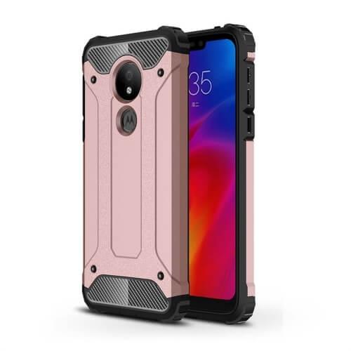 FORCELL TOUGH Ochranný kryt Motorola Moto G7 Power růžový