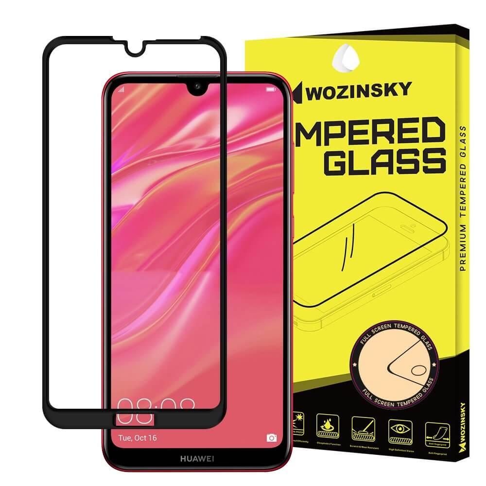 FORCELL 3D Tvrzené sklo Huawei Y7 2019 / Y7 Prime 2019 černé