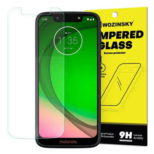 FORCELL Ochranné tvrzené (temperované) sklo Motorola Moto G7 Play