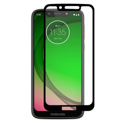 FORCELL 3D Tvrzené sklo Motorola Moto G7 Play černé