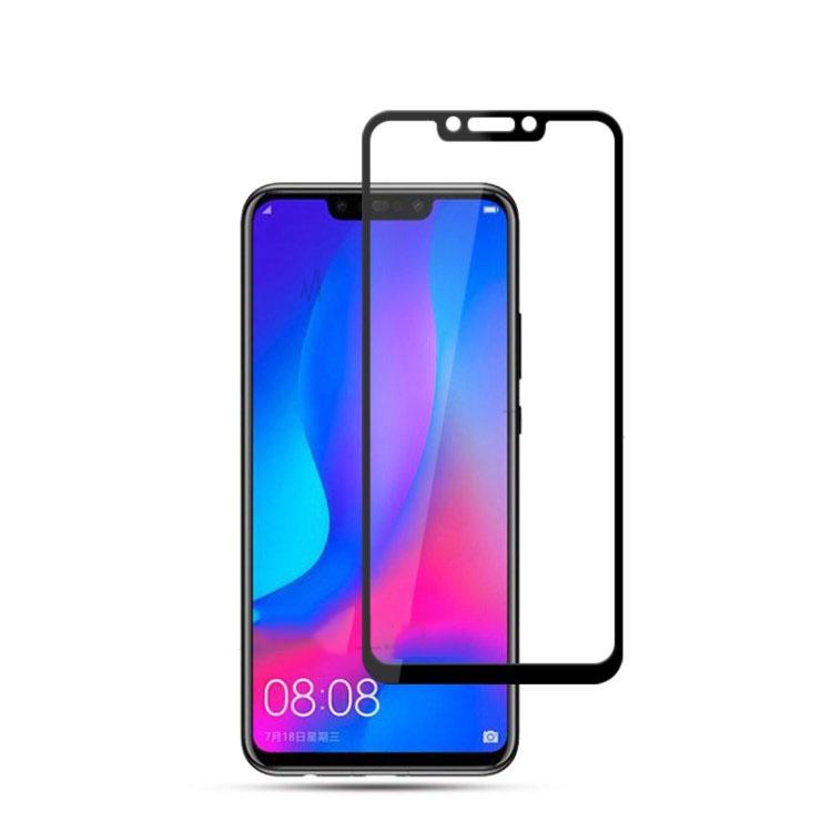 FORCELL 3D Tvrzené sklo Huawei Nova 3 černé