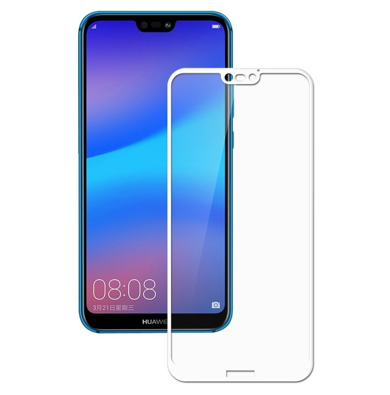 FORCELL 3D Tvrzené sklo Huawei P20 Lite bílé