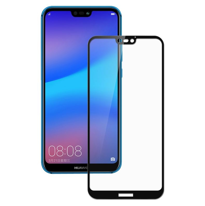 FORCELL 3D Tvrzené sklo Huawei P20 Lite černé