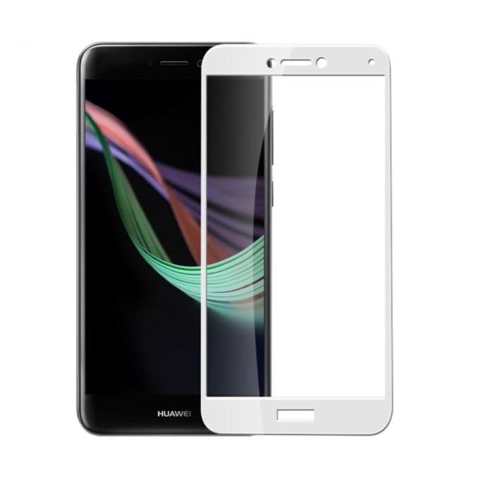 FORCELL 3D Temperované sklo Huawei P9 Lite 2017 biele