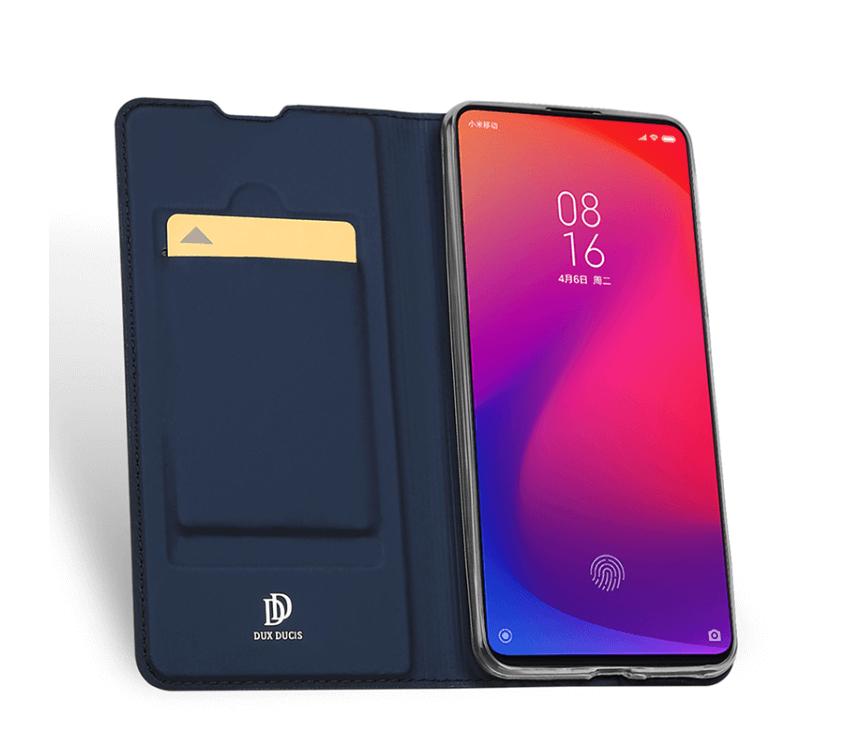 DUX Peňaženkový obal Xiaomi Mi 9T / 9T Pro modrý
