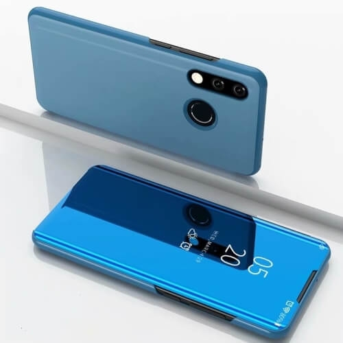 FORCELL MIRROR Ochranný obal Xiaomi Redmi 7 modrý