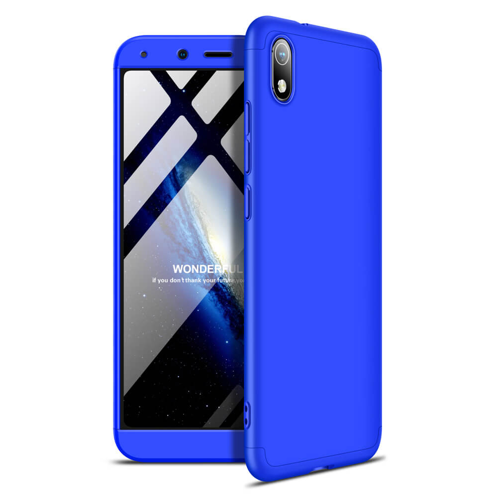 FORCELL 360 ° Ochranný kryt Xiaomi Redmi 7A modrý