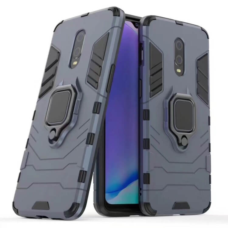 FORCELL STRONG Ochranný obal OnePlus 7 modrý