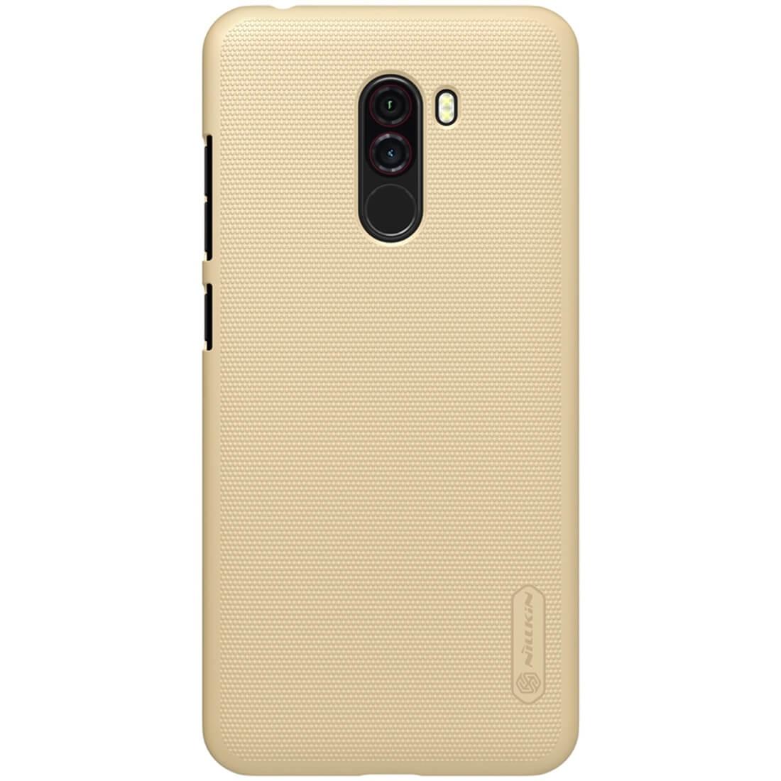 NILLKIN FROSTED obal Xiaomi Pocophone F1 zlatý