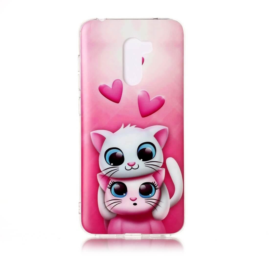 FORCELL ART TPU ochranný obal Xiaomi Pocophone F1 CATS