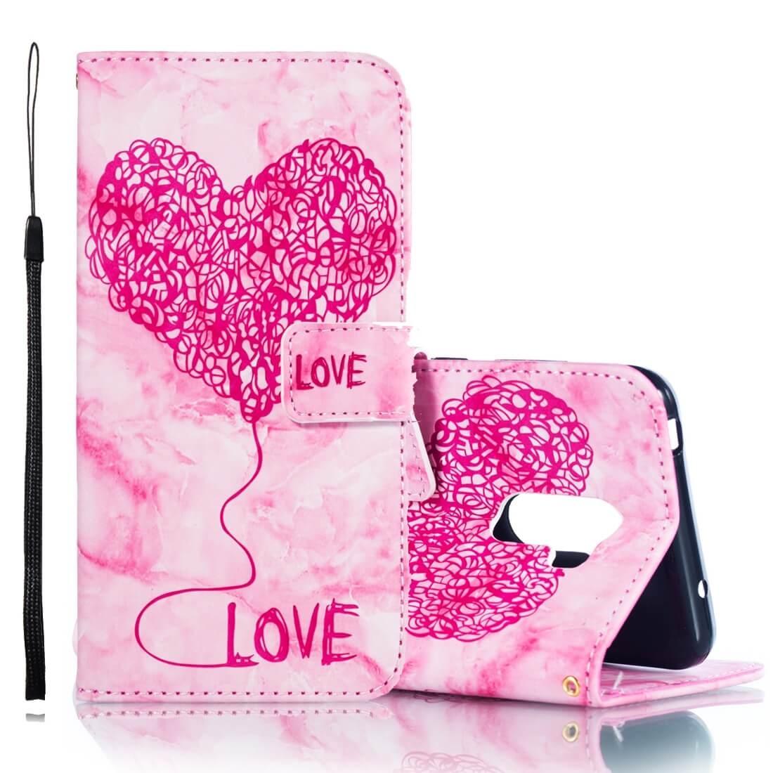FORCELL ART Peňaženkový obal Xiaomi Pocophone F1 růžový