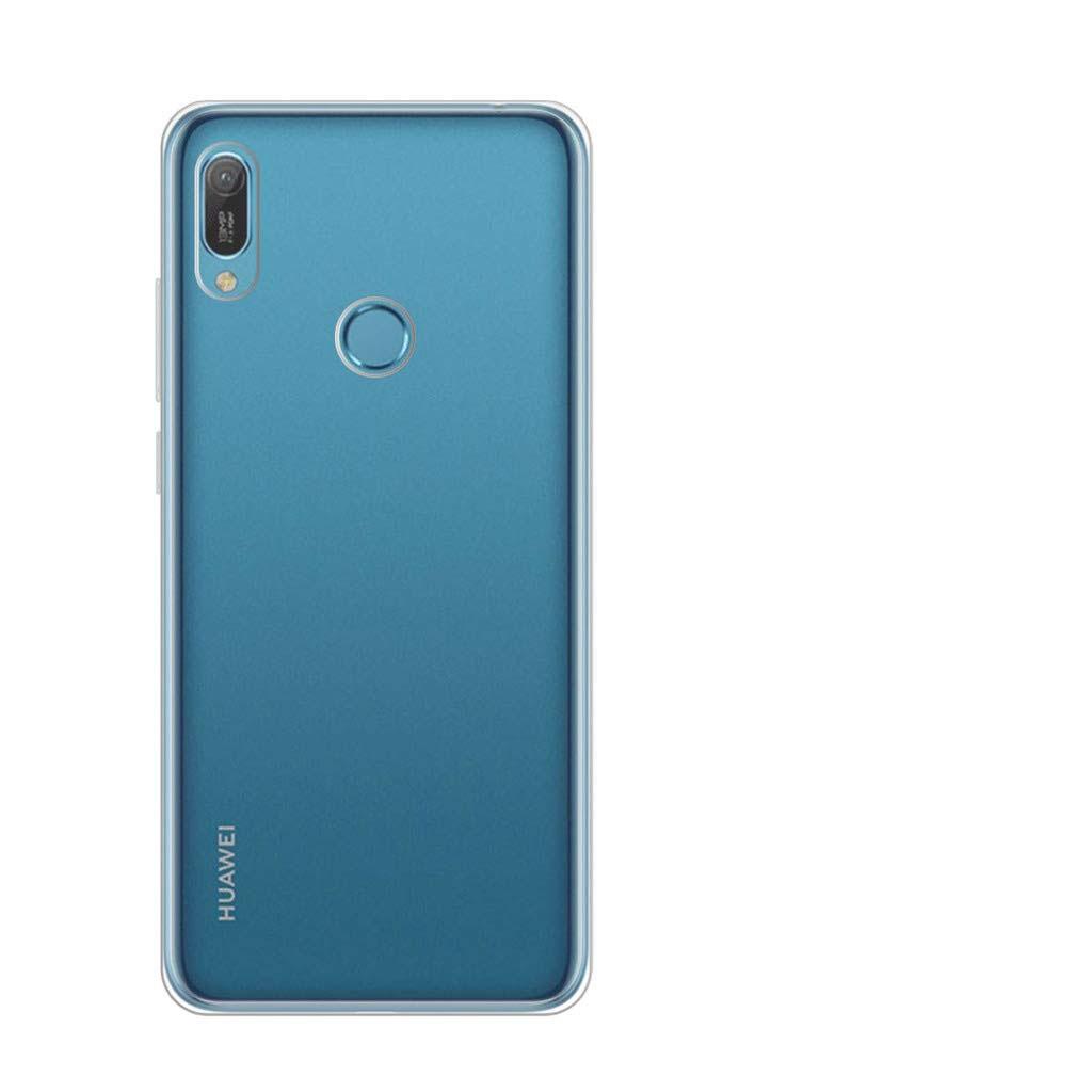 FORCELL Silikonový obal Huawei Y6 2019 průhledný