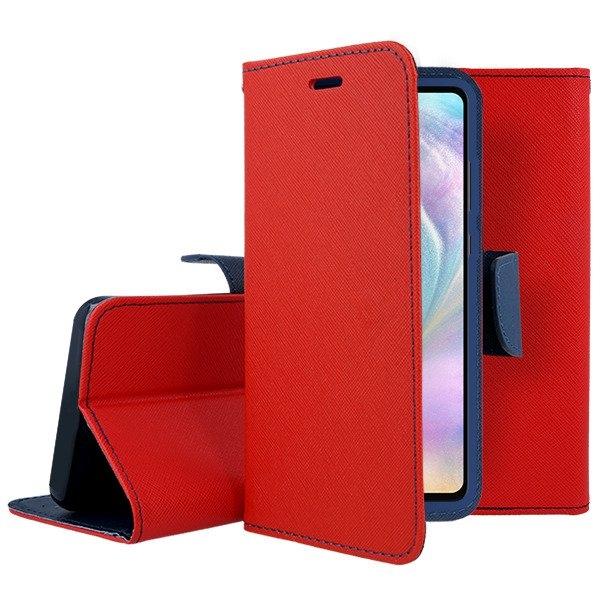 FORCELL FANCY Knížková pouzdro Huawei P30 červené