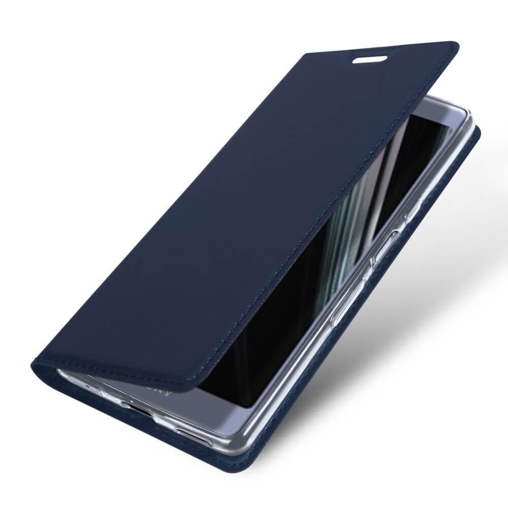 DUX Peňaženkové pouzdro Sony Xperia L3 modré