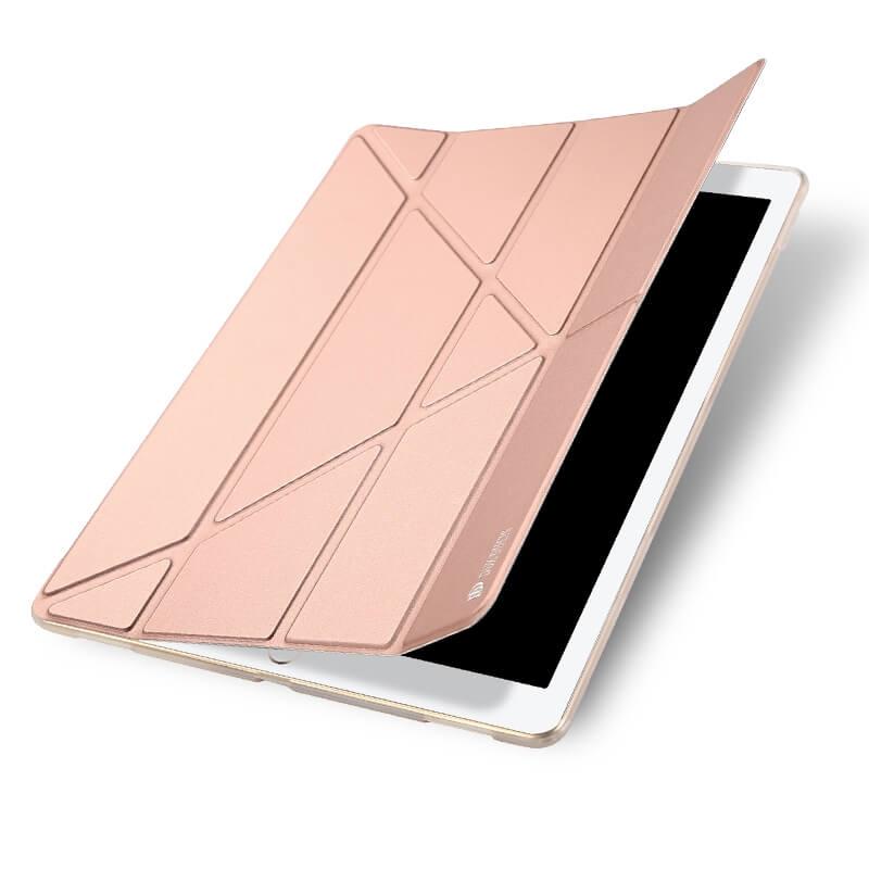 DUX Zaklapací obal Apple iPad Pro 12.9 (2017) ružový