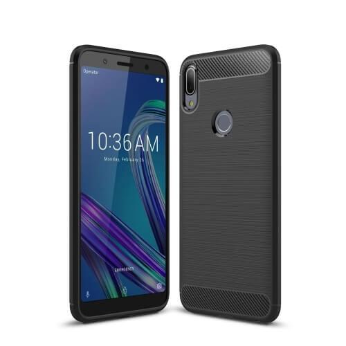 FORCELL FLEXI TPU Obal Zenfone Max Pro (M1) ZB601KL / ZB602KL černý