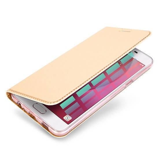 DUX Flipové púzdro Samsung Galaxy J5 2016 (J510) zlaté