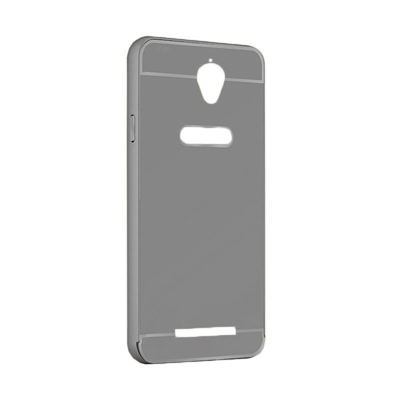 """FORCELL Ochranný zrcadlový obal Asus ZenFone Go 4,5 """"(ZC550TG) černý"""